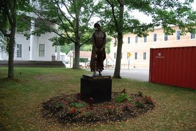 Mary Wells Morris Statue image. Click for full size.