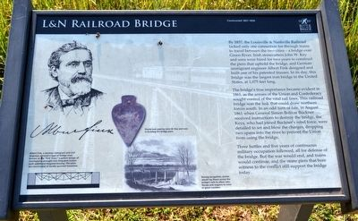 L&N Railroad Bridge Marker image. Click for full size.