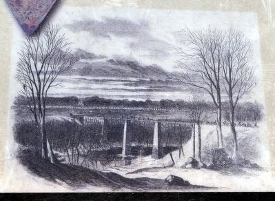 Bridge During the Civil War image. Click for full size.