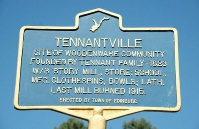 Tennantville Marker image. Click for full size.