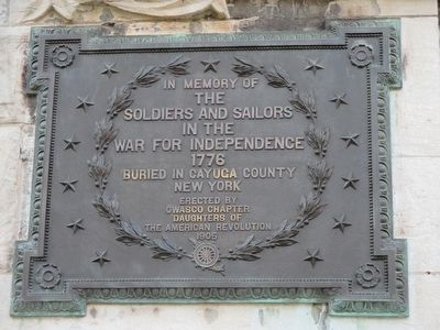 In Memory of the Soldiers and Sailors Marker image. Click for full size.