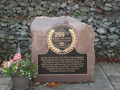 In Memory of the Famous 299th Memorial image. Click for full size.