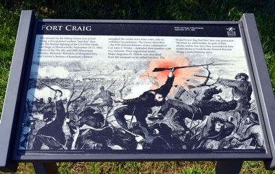 Fort Craig Marker image. Click for full size.