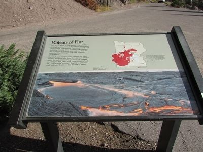 Plateau of Fire Marker image. Click for full size.