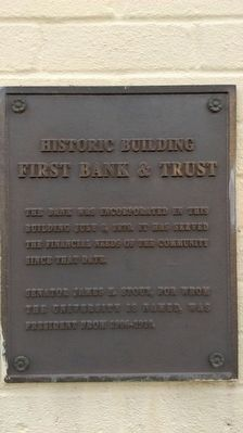 Historic Building Marker image. Click for full size.