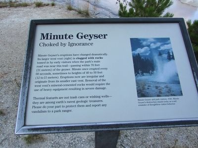 Minute Geyser Marker image. Click for full size.