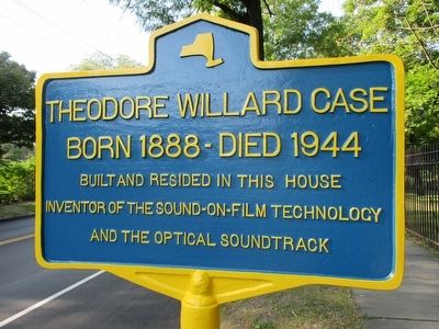 Theodore Willard Case Marker image. Click for full size.