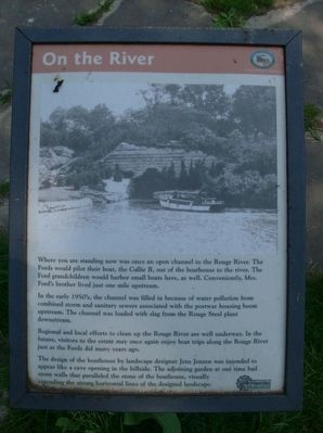 On the River Marker image. Click for full size.