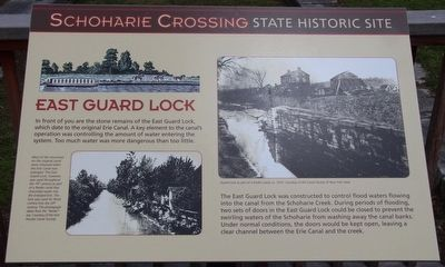 East Guard Lock Marker image. Click for full size.