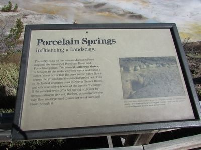 Porcelain Springs Marker image. Click for full size.