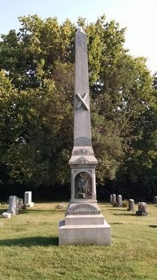 Georgetown Cemetery Confederate Monument image. Click for full size.