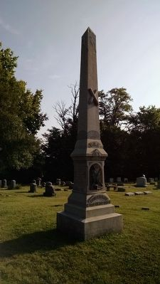 West and South Faces Georgetown Cemetery Confederate Monument image. Click for full size.
