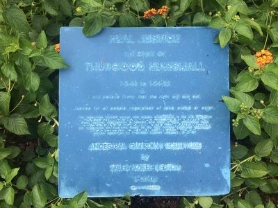 Thurgood Marshall Marker image. Click for full size.