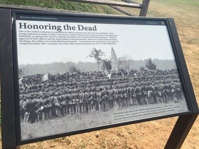 Honoring the Dead Marker image. Click for full size.