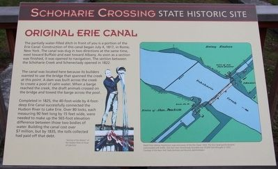 Original Erie Canal Marker image. Click for full size.