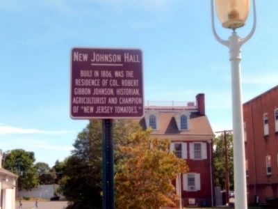 New Johnson Hall Marker image. Click for full size.