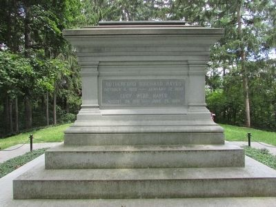 Grave of Rutherford B. Hayes image. Click for full size.
