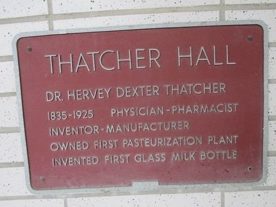 Thatcher Hall Marker image. Click for full size.