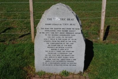 The Electric Brae' Marker image. Click for full size.