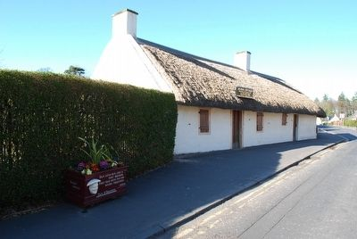 Burns Cottage Marker image. Click for full size.