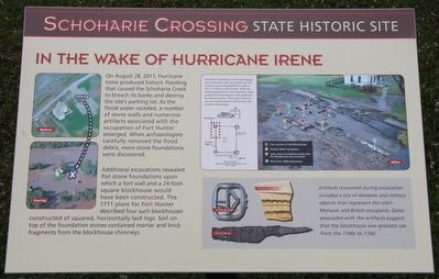 In the Wake of Hurricane Irene Marker image. Click for full size.