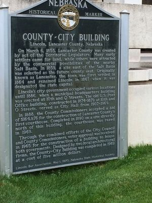 County - City Building Marker image. Click for full size.