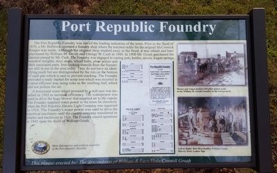 Port Republic Foundry Marker image. Click for full size.