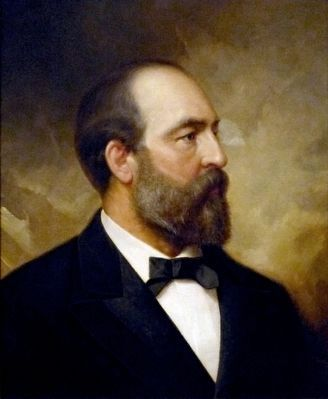 James A. Garfield image. Click for full size.