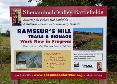 Ramseur's Hill - Fisher's Hill Battlefield image. Click for full size.