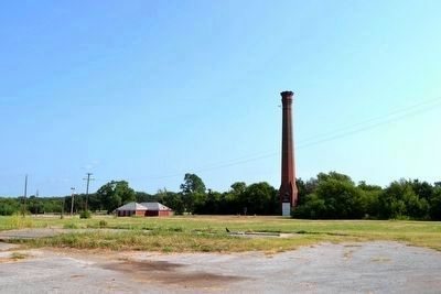 Texas & Pacific Coal Company Smokestack image. Click for full size.
