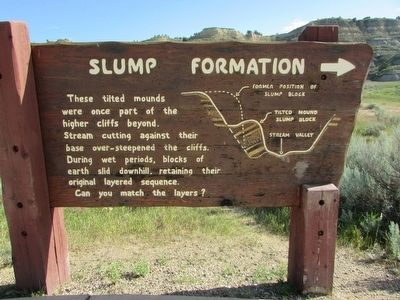 Slump Formation Marker image. Click for full size.