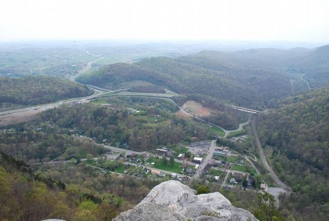 The Town of Cumberland Gap image. Click for full size.