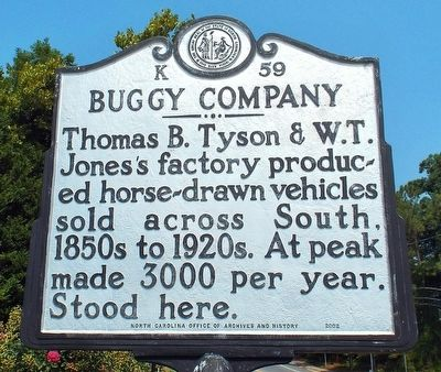 Buggy Company Marker image. Click for full size.