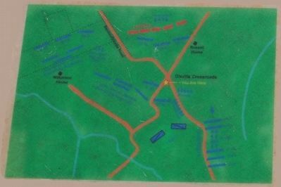 Dixville Crossroads Marker Map image. Click for full size.