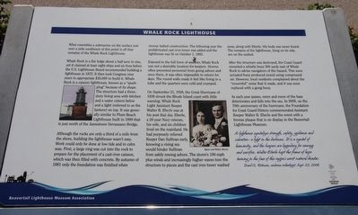 Whale Rock Lighthouse Marker image. Click for full size.