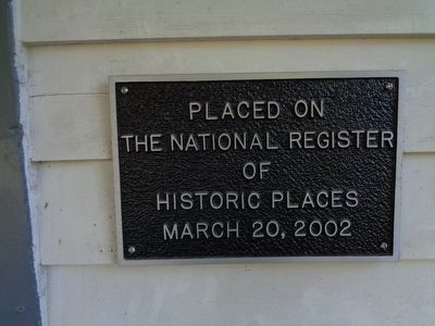 Nicholas Gotten House National Register image. Click for full size.