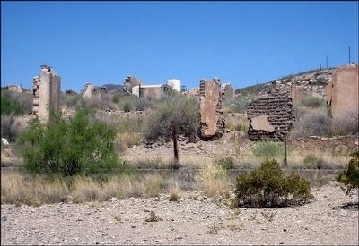 Possible Ruins of Shafter Silver Smelter or Mine image. Click for full size.