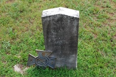 James A. Cartwright- Confederate Grave image. Click for full size.