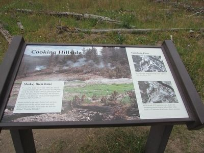 Cooking Hillside Marker image. Click for full size.