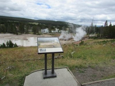 Mud Geyser Marker image. Click for full size.