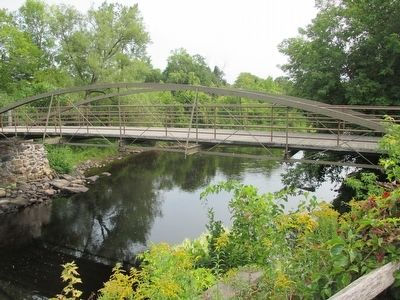 The King Iron Bowstring Bridge image. Click for full size.