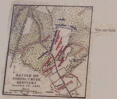 The Union Line at the Fence Marker Map image. Click for full size.