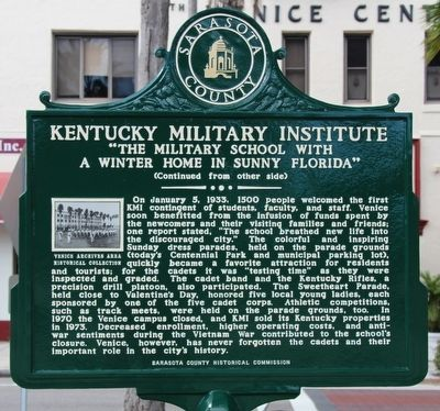 Kentucky Military Institute Marker image. Click for full size.