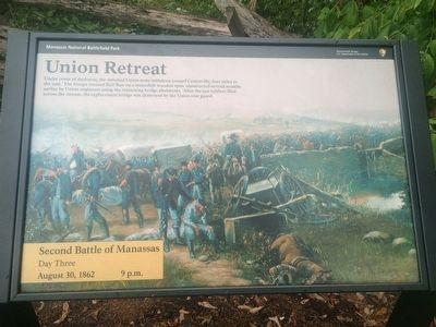 Union Retreat Marker image. Click for full size.