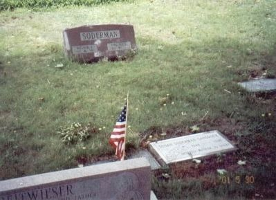 William A. Soderman Private Grave Marker image. Click for full size.