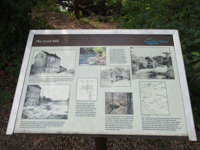 The Grist Mill Marker image. Click for full size.