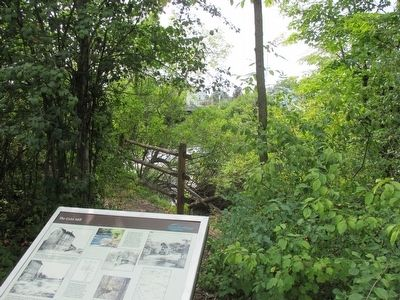 The Grist Mill Site & Marker image. Click for full size.