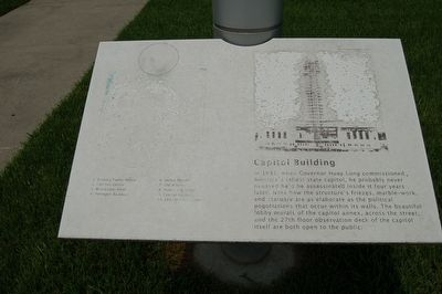 Capitol Building Marker image. Click for full size.