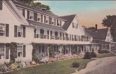 Vintage Postcard View of The Ravine House image. Click for full size.