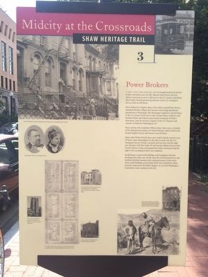 Power Brokers Marker image. Click for full size.